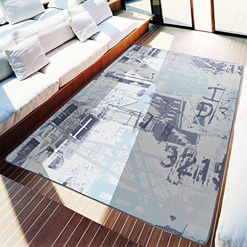 HDWN Tendenza della grande tappeto personalitš€ pastiglie retrš° divano Tavolino da tšš tappeto stuoia camera da letto la stuoia di portello del portico di salotto , industrial age , 200*300cm