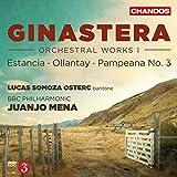 Ginastera:Orchestral Works 1 [Lucas Somoza; BBC Philharmonic ,Juanjo Mena] [CHANDOS : CHAN 10884]