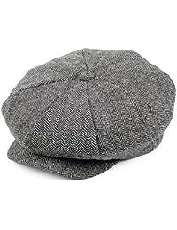 Jaxon & James Herringbone Big Apple Cap - Grey