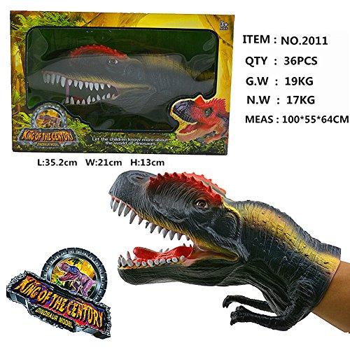 Simulation Dinosaurier Hand Handpuppe Modelle Soft Touch Super realen Statische Spielzeug für Kinder und Erwachsene 2011 Modell Weihnachtsbaum