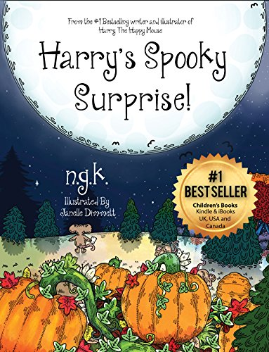 Harry's Spooky Surprise! (Harry The Happy Mouse Book 3) (English Edition) (Happy Halloween N)