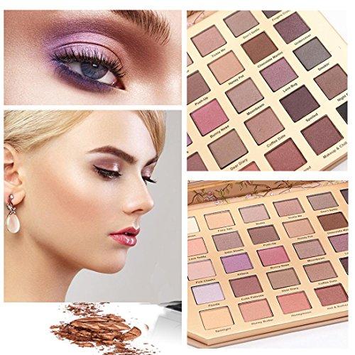 ❤️ Fard à paupières,Luxe 30 couleurs chatoyantes fard à paupières ombres palette Eye pinceau cosmétique ensemble fard à paupières maquillage cosmétique ombre by LHWY