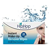 HipHop Instant MakeUp Remover Wipes - Micellar Water, 30 wipes (Pack of 2)