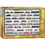 Eurographics Puzzle 1000 Pezzi- Modern Locomotives (Eg60000091)