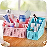 TIED RIBBONS Set of 2 Multipurpose Makeup Costmatic Organizer Desk Organiser, Pen Stand, Mobile Stand, Remote Stand, Table Organiser For Office, Multipurpose Stand