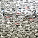 Bekleidungsgeschäft-Ausstellungsständer, Weinlesekleidungs-Rohrausstellungsgestell, alte Hängende Plattenwand der Wand, MultifunktionsKleiderständer mit Holz (Farbe : B)