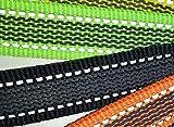 dogogo 13002-10 Gummierte Leine ohne Schlaufe, neon grün