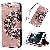 YOKIRIN Lederhülle Wallet Case für iPhone 6 Plus/6S Plus (5.5