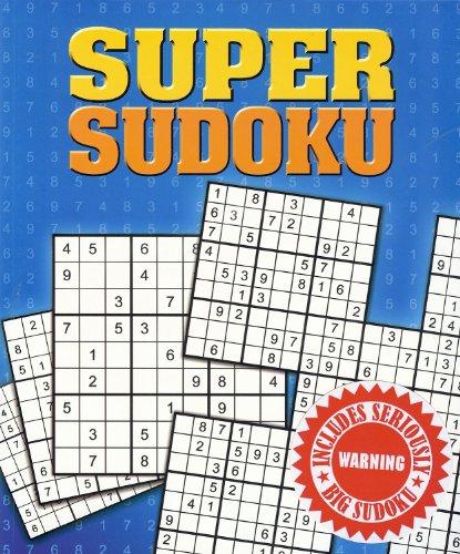 Super Sudoku: Includes Seriously Big Sudoku (Colossal Puzzles)