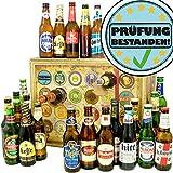 Prüfung bestanden | Bieradventskalender mit Bieren aus aller Welt | Abschlussprüfung Geschenk | INKL gratis Bierbuch