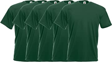 Fruit of the Loom Herren 5er Pack T-Shirt Valueweight T 5er_61-036-0