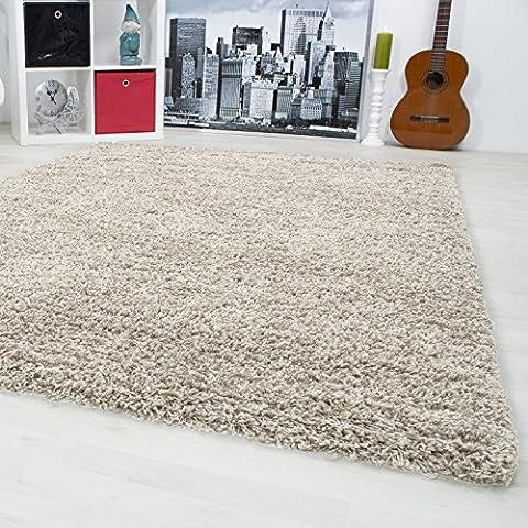 Shaggy Teppiche für Wohnzimmer, Esszimmer oder Gästezimmer mit verschiedenen Farben