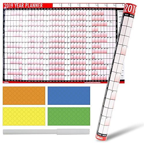 3. Avant-Garde - Calendario planificador de pared 2019
