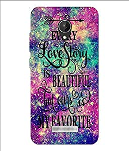 Micromax Canvas Pace Q416 Printed Back Cover For Micromax Canvas Pace Q416 (Goon Shopping)