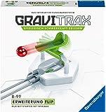 Ravensburger GraviTrax Erweiterung Flip - Ideales Zubehör für spektakuläre Kugelbahnen, Konstruktionsspielzeug für…