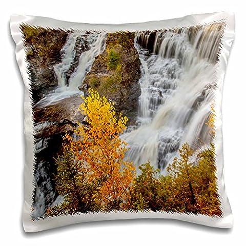 Danita Delimont - Waterfalls - Canada, Ontario, Kakabeka Falls Provincial Park, Kakabeka Falls. - 16x16 inch Pillow Case (pc_207053_1)
