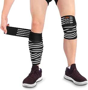 Kniebandagen, verstellbarer Kniestützverband mit hoher