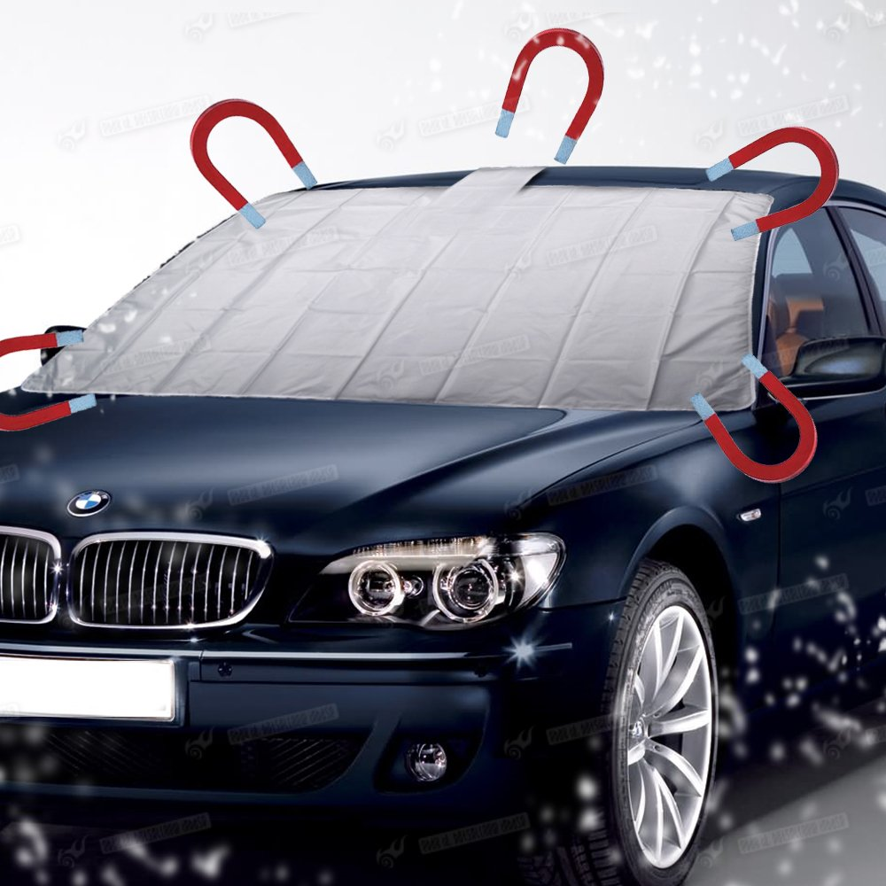 Magnetic Car Windscreen Cover Frost Ice Sun Shield Snow Protection With Free Bag