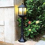 European Outdoor Lampada da parete prato Luce della lampada di paesaggio Residenziale Villa Giardino Lampade