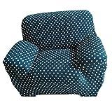 MagiDeal 1-Sitz / 3-Sitzer Modern Stretch Sofabezüge Sofahusse Couch Sofa Husse Wohnzimmer Haus Dekoration , Farben und Größe Auswählbar - Punkt Leben, 90-140cm