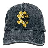 Pants Hats Queen honeybee Honeycomb Bee Denim Hat Adjustable Womens Baseball Caps