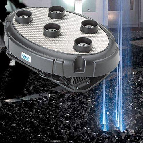 Oase - water quintet - Jeu d'eau et lumière 5 ajutages 50w