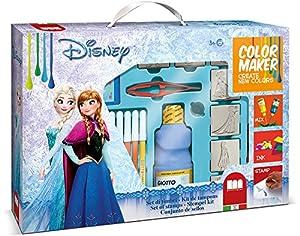 MULTIPRINT Frozen - Juegos de Sellos para niños, Caucho, Madera, 3 año(s), Italia, 385 mm, 265 mm