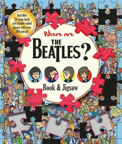 Where are The Beatles? (Find Me Book and Jigsaw)