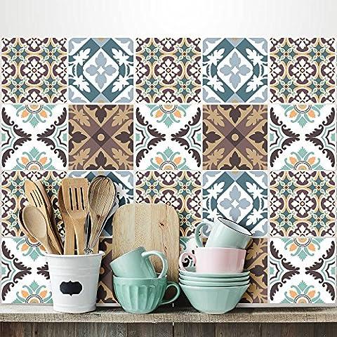 PS00038 Adesivi murali in pvc per piastrelle