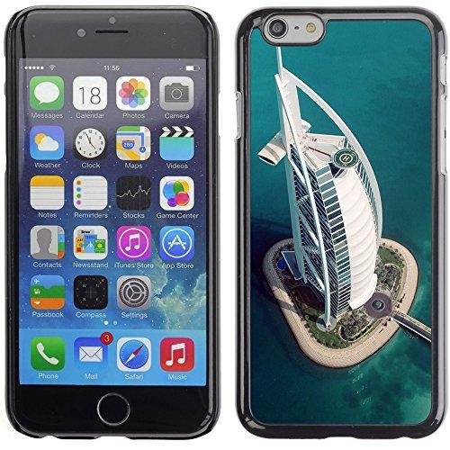Graphic4You Dubai Postkarte Ansichtskarte Design Harte Hülle Case Tasche Schutzhülle für Apple iPhone 6 Plus / 6S Plus Design #7