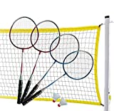 MD Sports Complete 4-Player Badminton Set by MD Sports