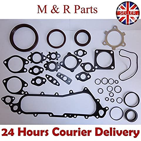 TOYOTA 1KD 3.0 D-4D/4WD HILUX III PICKUP CONVERSION BOTTOM END GASKET SET 2005ON free shipping