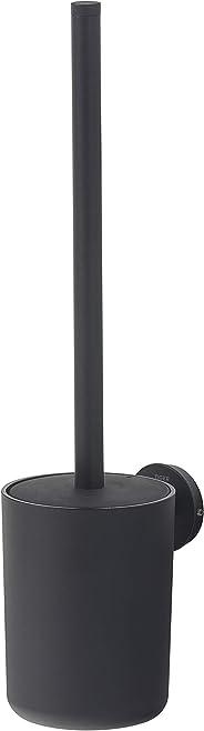 Tiger Urban toiletborstel, kleur: zwart, toiletborstelgarnituur voor wandbevestiging, met verwisselbare decoratieve ringen v
