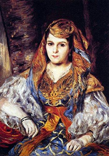 Das Museum Outlet-Algerische Frau von Renoir-Poster (61x 45,7cm)
