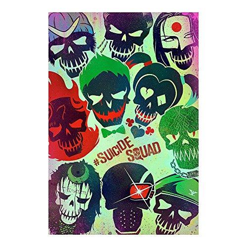 Poster Suicide Squad - Skulls - manifesto risparmio, cartellone XXL