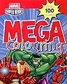 Marvel:Avengers Assemble/ Super Heroes Mega Colouring Book (Spiderman, Hulk, Iron Man, Thor, Captain America)