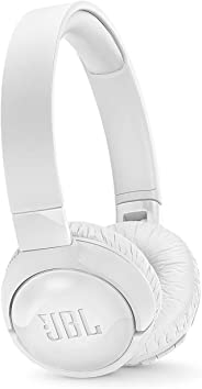 JBL Tune600Btnc In White – Over Ear Active Noise-Cancelling Bluetooth Headphones – Headset W/Built-In Microphone – 12H + Wire