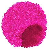Shenky - Perruque Afro pour carnaval - femme - rose