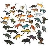BestPysanky Set of 12 Forest Animals Action Figurines