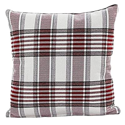 Ouneed Fashion Lattice Sofa Bed Home Decor Pillow Case Cushion Cover - inexpensive UK light shop.