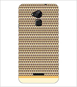 PrintDhaba Pattern D-1993 Back Case Cover for COOLPAD NOTE 3 LITE (Multi-Coloured)