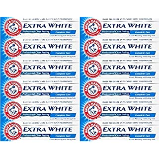 Arm & Hammer Toothpaste Extra White Complete Care 125g x 12 Packs