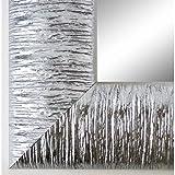 Online Galerie Bingold Spiegel Wandspiegel Badspiegel - Rostock 7,2 - Silber - 200 Größen zur Auswahl - Handgefertigt - 70 x 90 - AM - Modern, Shabby, Vintage