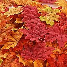 50 Herbstblätter bunt ca.7cm Herbstlaub Laubblätter Laub Ahorn Dekoblätter Ahorn