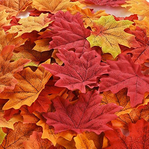 �tter Künstliche Herbst Blätter Mehrfarbige Gemischte Girlanden Kunst Scrapbooking Hochzeit Haus Dekorationen (Herbst-kunst-projekte)
