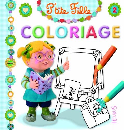 Coloriage P'tite fille : Numéro 2