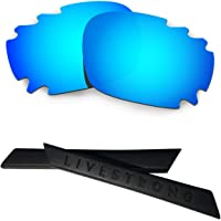 HKUCO Replacement Lenses And Earsocks Rubber Kit for Oakley Jawbone Vented