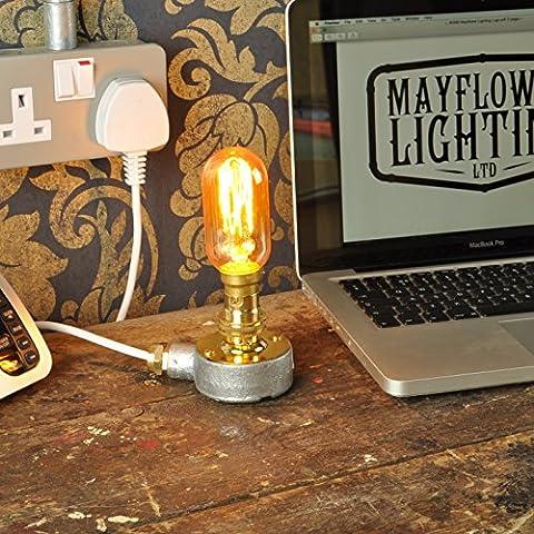 THE FULLER Desk Lamp New Industrial Style Vintage Retro Steampunk Light Fitting Bed Side Bar - Restaurant - Loft - Urban - Farmhouse -