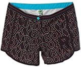 Roxy Damen Badeshorts Boardshorts Strandshorts Shorts Schwarz XS