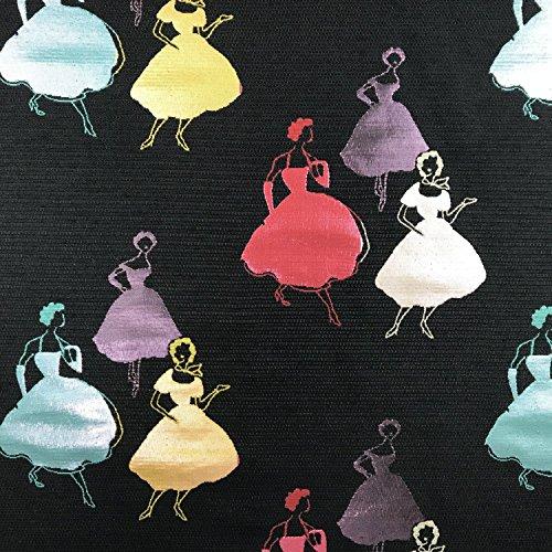 Premium Silhouette lila metallic Brokat Kleid Stoff 152,4cm 150cm breit-Meterware